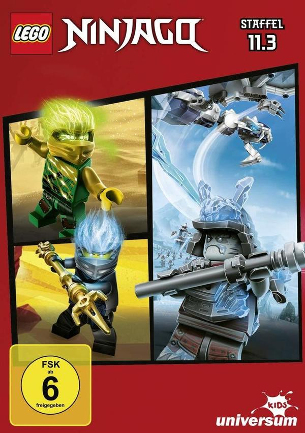 """Wir verlosen Staffel 11.3 von """"Lego Ninjago"""" auf DVD und legen noch zwei Lego-Hörspiel dazu"""
