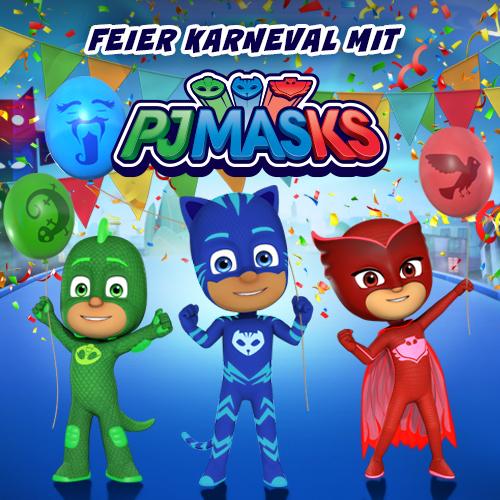 """Zum Start der dritten Staffel """"PJ Masks - Pyjamahelden"""" im Disney Chanel verlosen wir tolle Spiele"""
