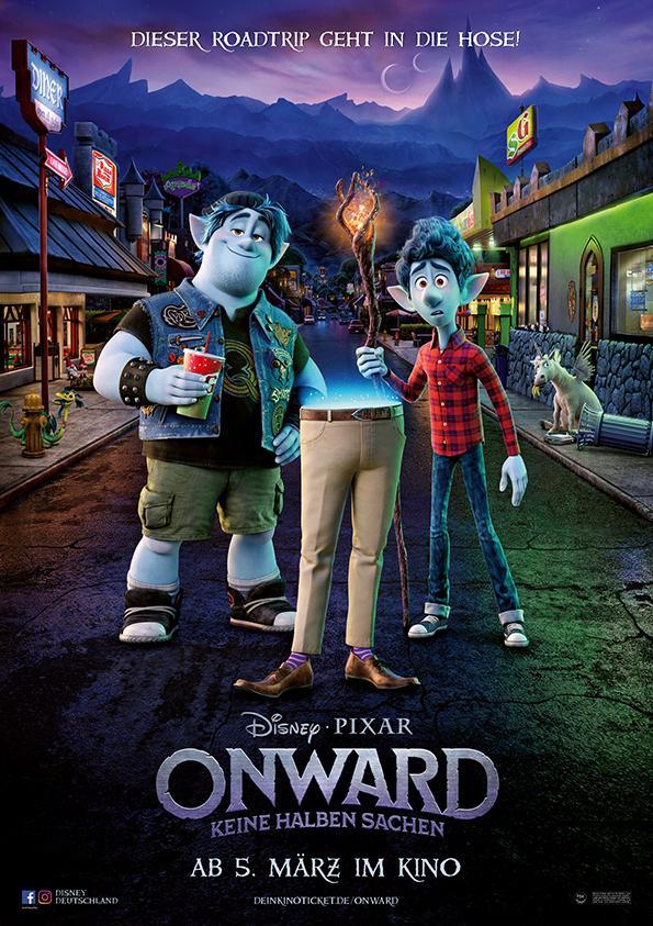 """Eine Welt voller Magie: Zum Kinostart des neuen Pixar Films """"Onward: Keine halben Sachen"""" verlosen wir tolle Fan-Pakete"""