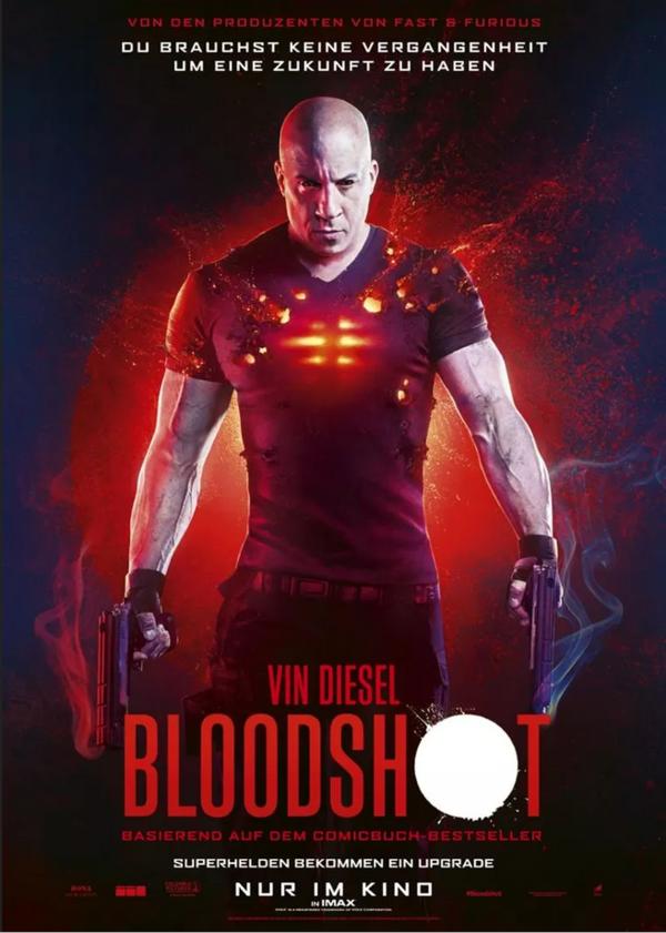 """""""Bloodshot"""" mit Vin Diesel: Wir verlosen zum Kinostart ein tolles Fanpaket (inkl. Freikarten und Comicband)"""