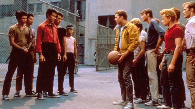 westside story vs the warriors Watch video  title: west side story (1961) 76 /10 want to share imdb's rating on your own site use the html below you must be a registered.