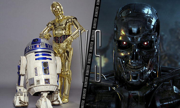 Finalduell: R2D2 & C3PO vs. Terminator | Moviebreak.de
