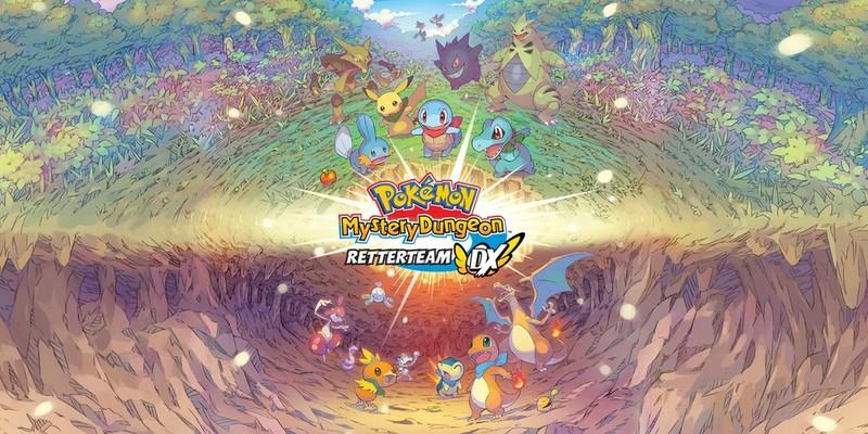 """Videospiel """"Pokemon Mystery Dungeon: Retterteam DX"""" im Test"""