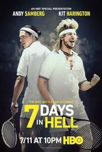 Small 7 days in hell poster