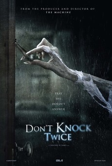 Big dont knock twice poster 01