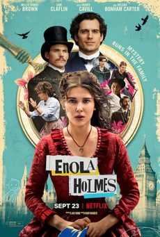 Big enola holmes netflix millie bobby brown poster 405x600