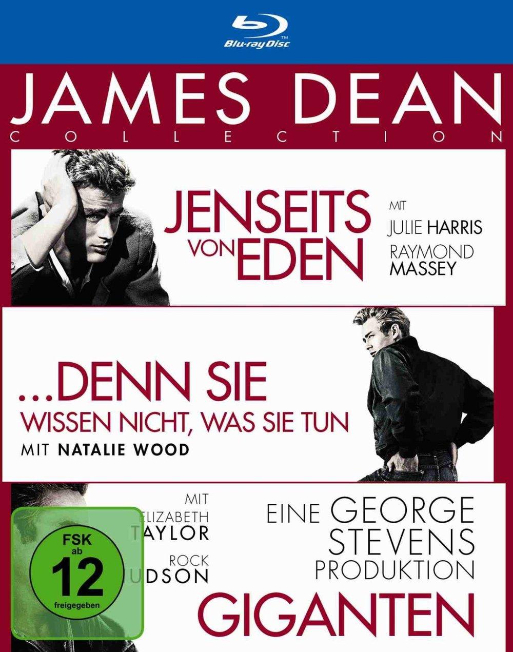"""Gewinnspiel: Gewinne eine Blu-Ray der """"James Dean Collection"""""""