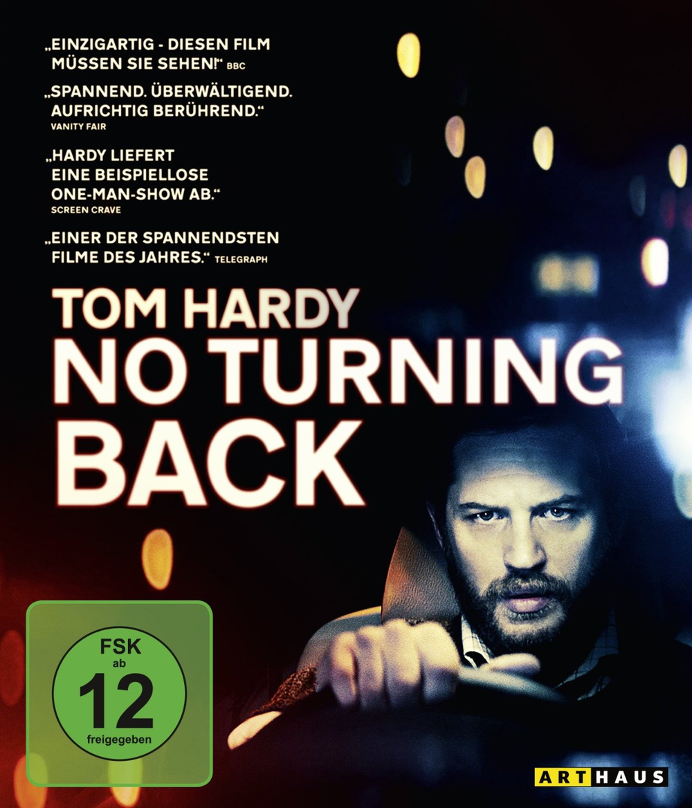 """Gewinnspiel: Gewinne eine DVD oder BD zum Tom Hardy Thriller """"No Turning Back"""""""