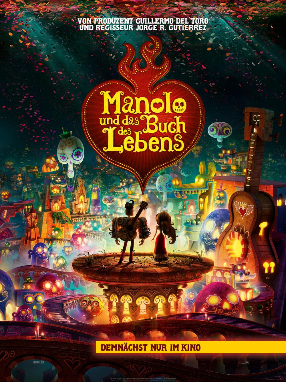 """Gewinnspiel: Gewinne ein Fan-Paket zum fantastischen Animationsfilm """"Manolo und das Buch des Lebens"""""""