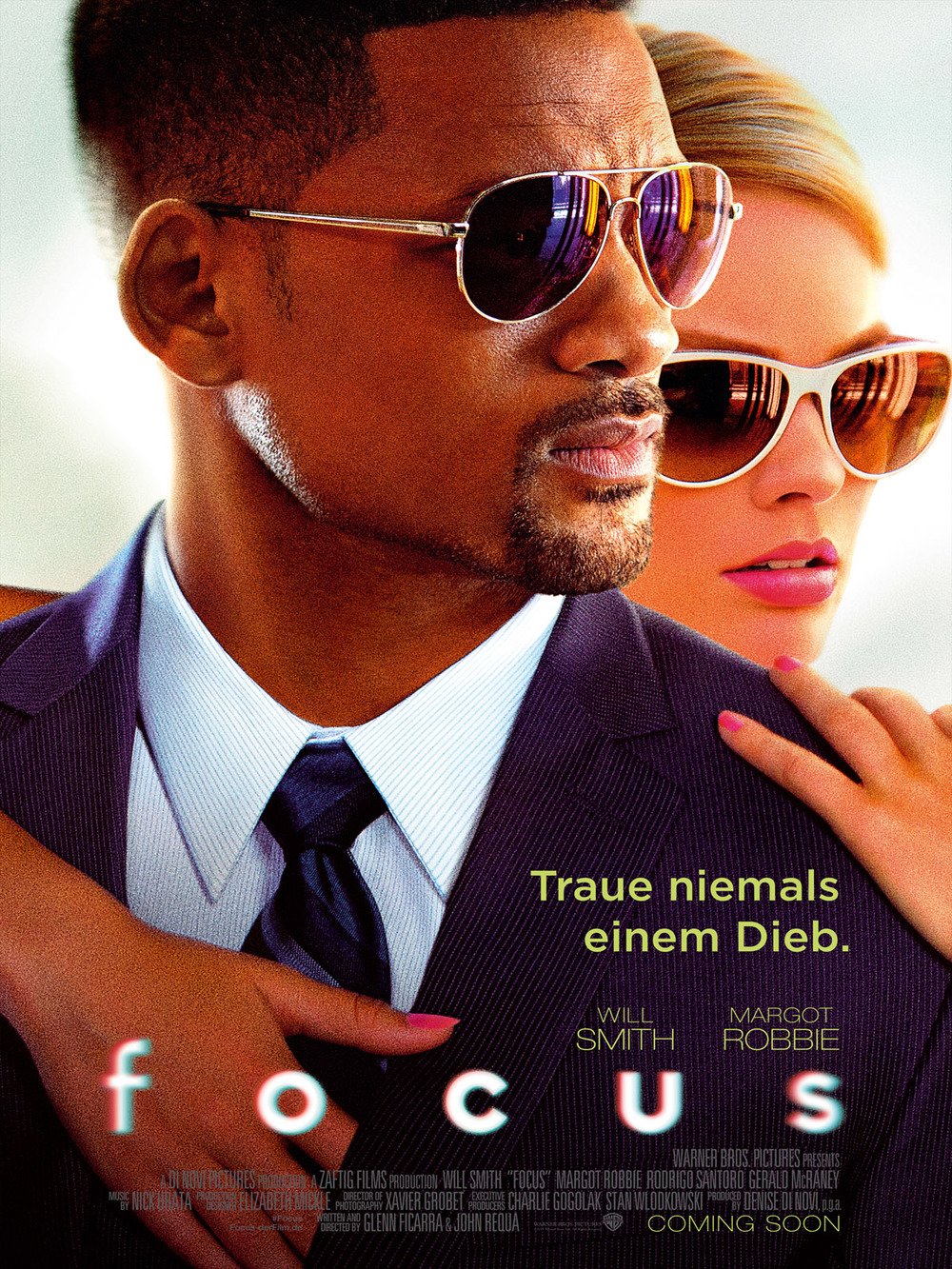 """Gewinnspiel: Gewinne ein Fan-Paket zum Will Smith Thriller """"Focus"""""""