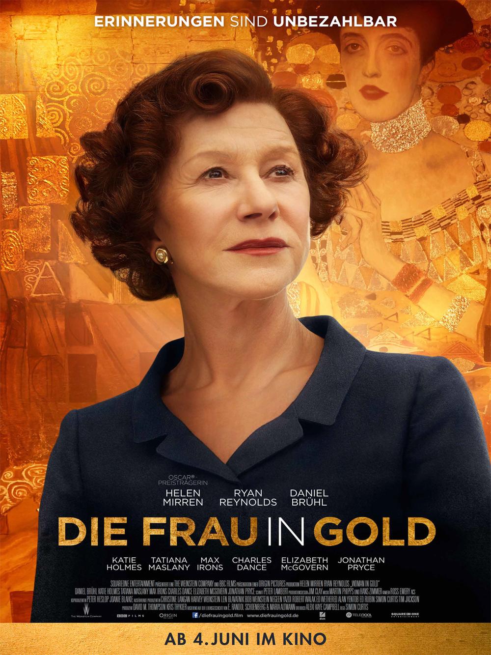 """Gewinnspiel: Gewinne ein Fan-Paket zum eindringlichen Drama """"Die Frau in Gold"""""""