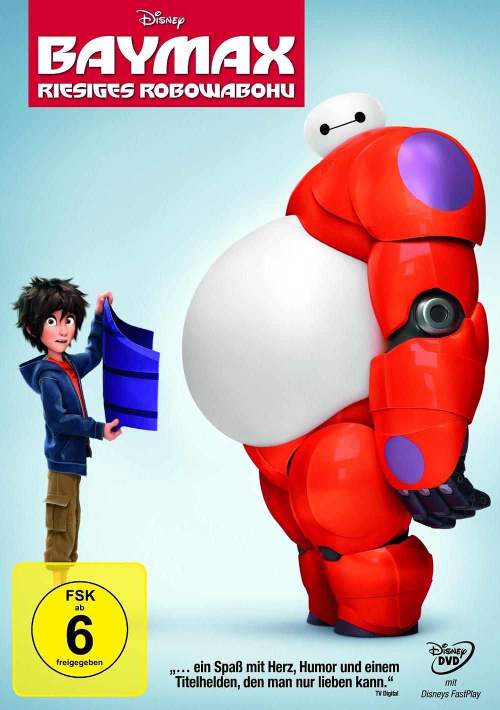 """Gewinnspiel: Gewinne ein Fan-Paket zu Walt Disneys Animationshit """"Baymax - Riesiges Robowabohu"""""""
