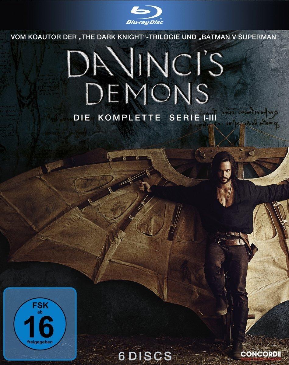 """Gewinnt eine BD Box zu """"Da Vinci's Demons"""" - Die komplette Serie"""