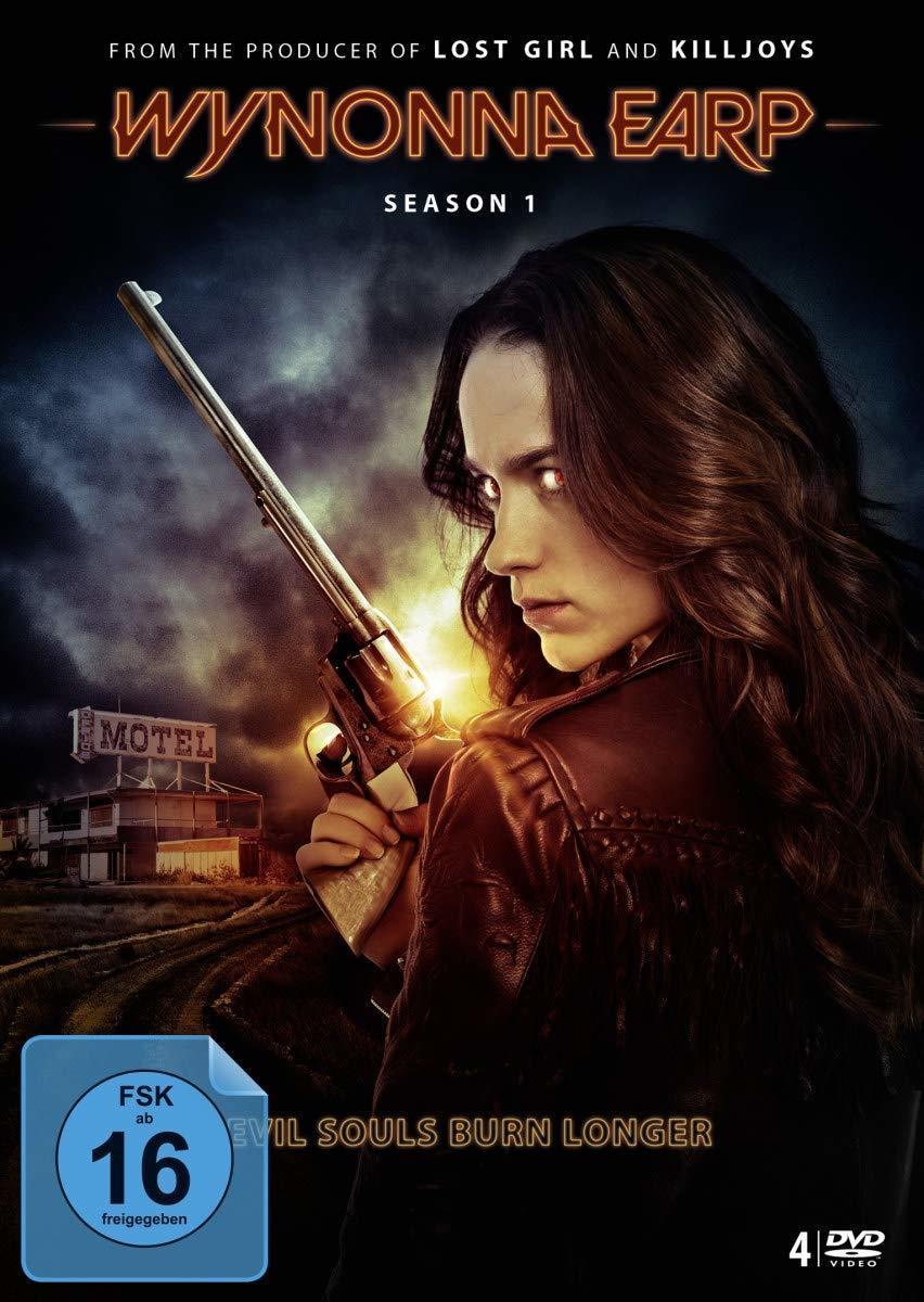 """Im Kampf gegen Dämonen: Wir verlosen die Action-Fantasy-Serie """"Wynonna Earp"""" - Die Komplette Season 1 auf DVD und BD"""