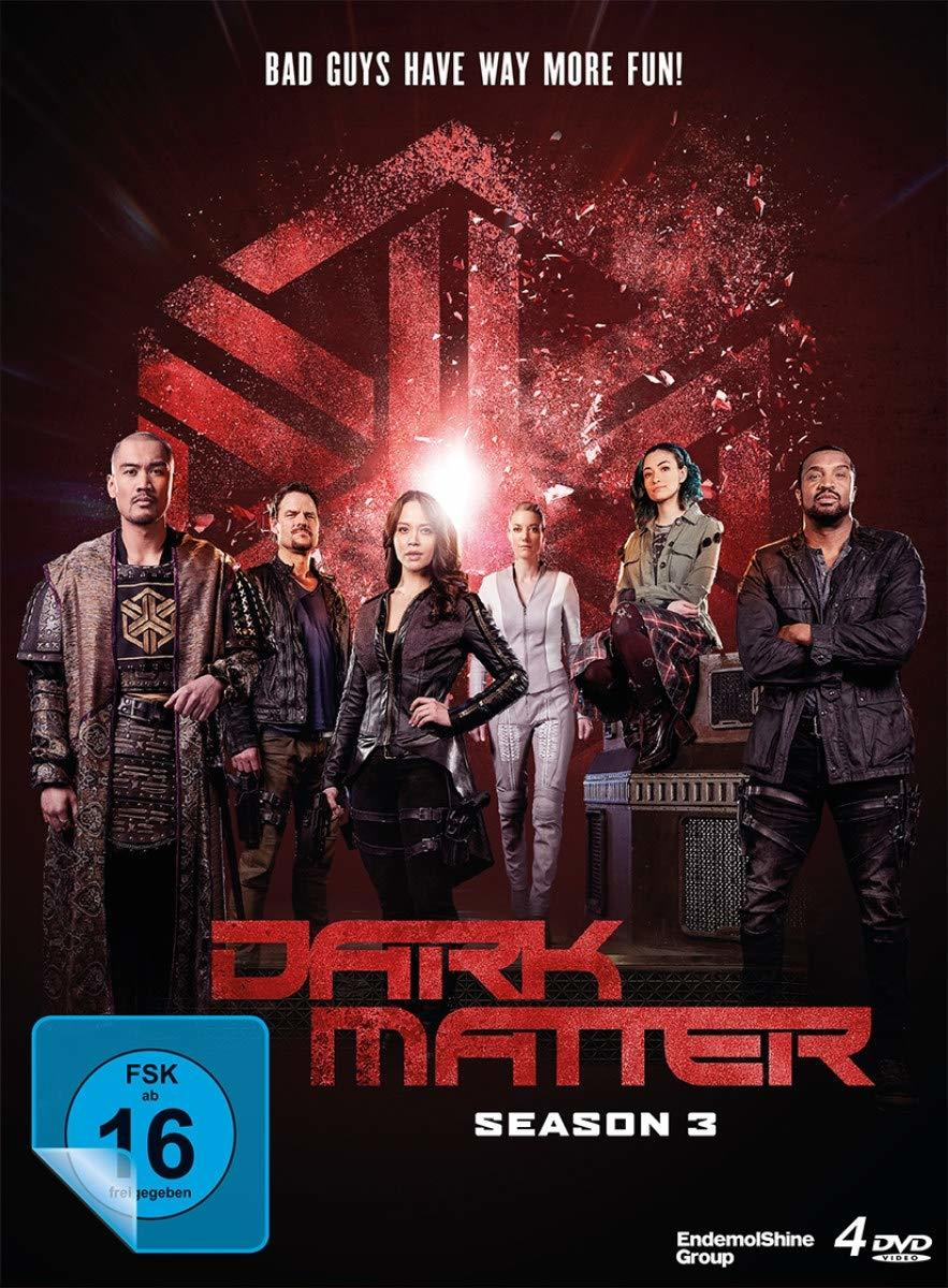 "Bad Guys have way more fun: Wir verlosen die dritte Staffel der Sci-Fi-Serie ""Dark Matter"""