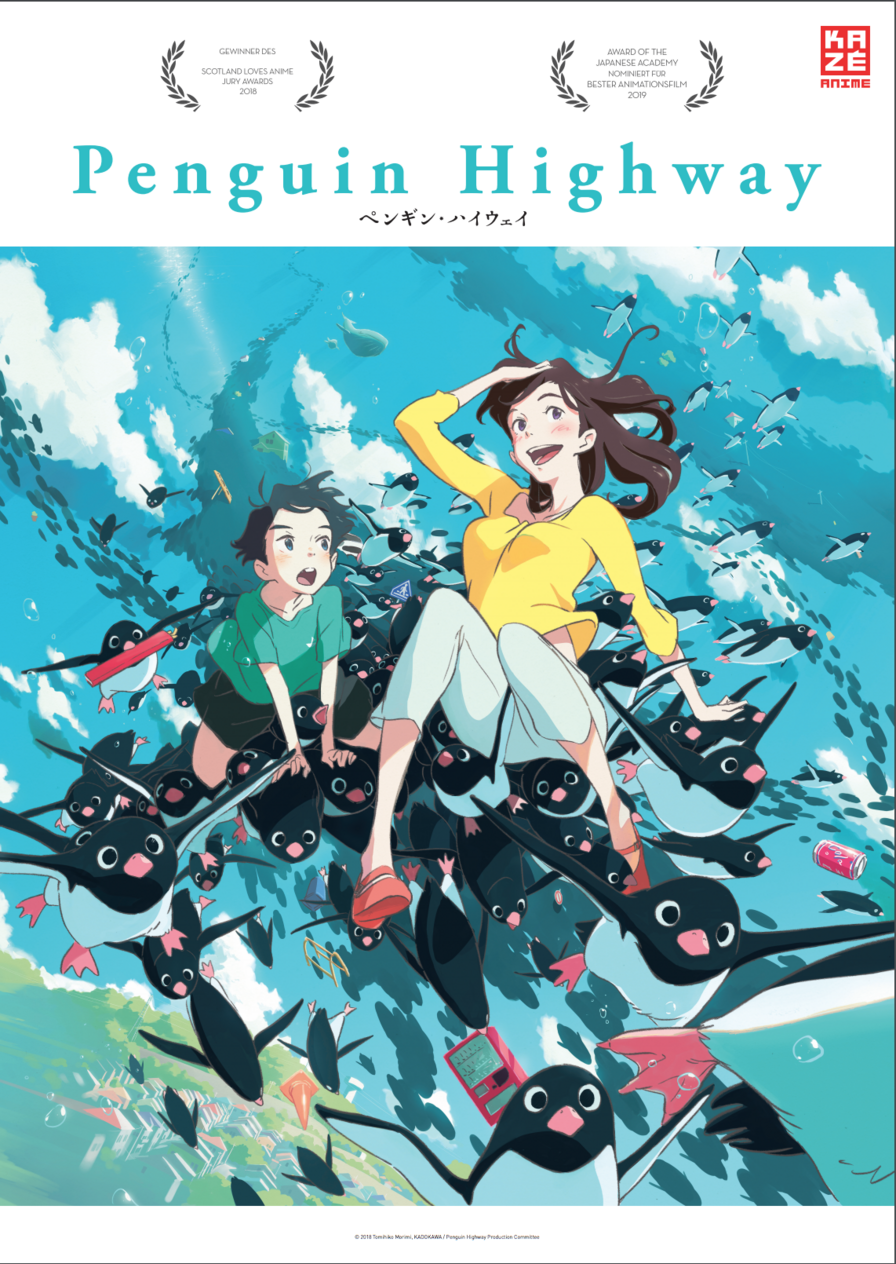 "Kazé Anime Night: Gewinnt zum Kino-Highlight ""Penguin Highway"" am 29.10. Kinokarten"
