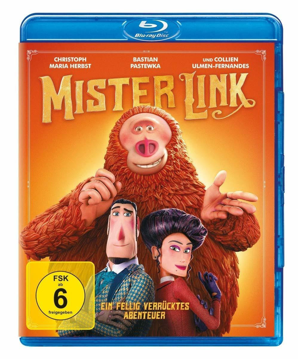 """Aus dem Hause LAIKA: Wir verlosen den Stop-Motion-Spaß """"Mister Link - Ein fellig verrücktes Abenteuer"""" auf BD"""