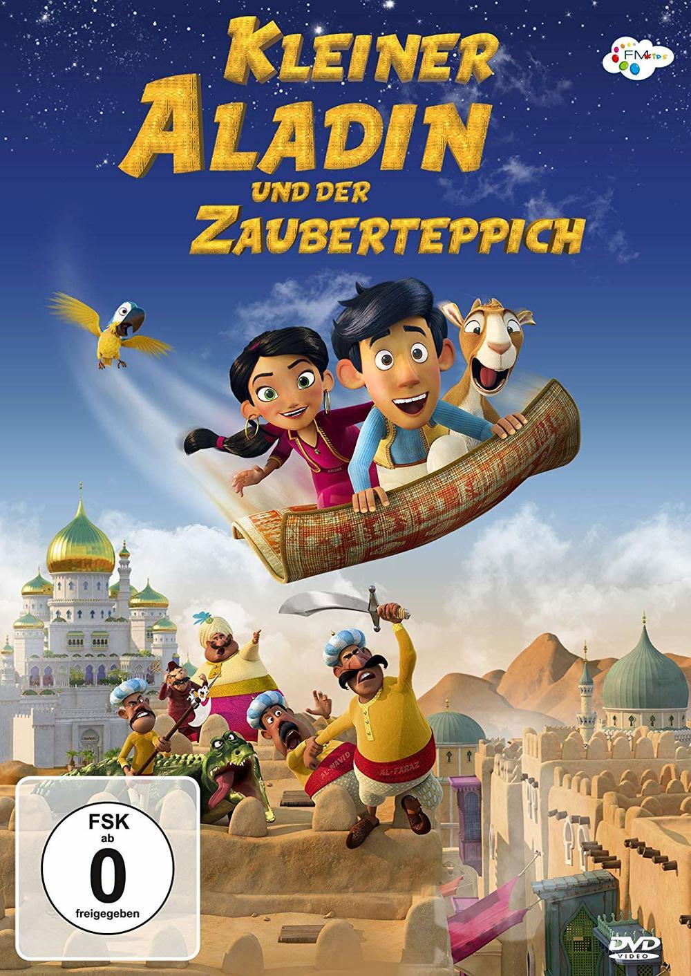 """Tausendundeine Nacht: Wir verlosen den Animationsspaß """"Kleiner Aladin und der Zauberteppich"""" auf DVD oder BD"""