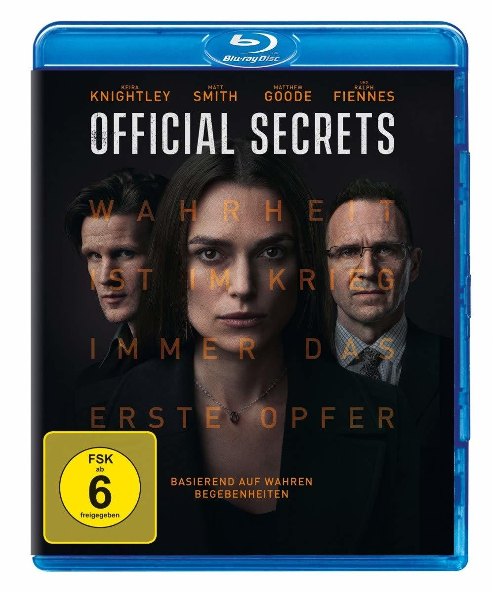 "Keira Knightley als Whistleblower: Wir verlosen ""Official Secrets"" als BD"