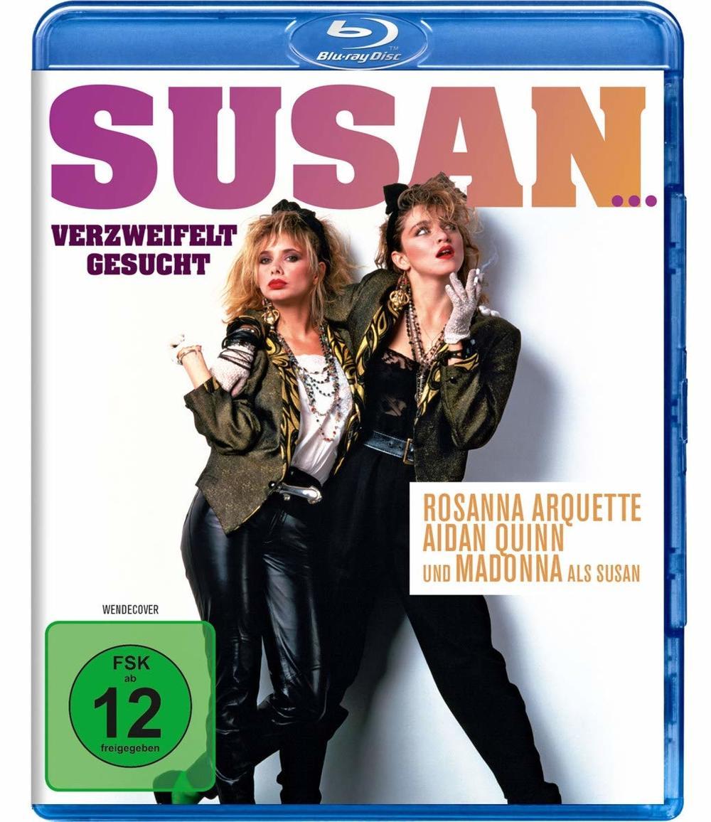 """Der eine gute Film mit Madonna: Wir verlosen """"Susan... verzweifelt gesucht"""" auf BD"""