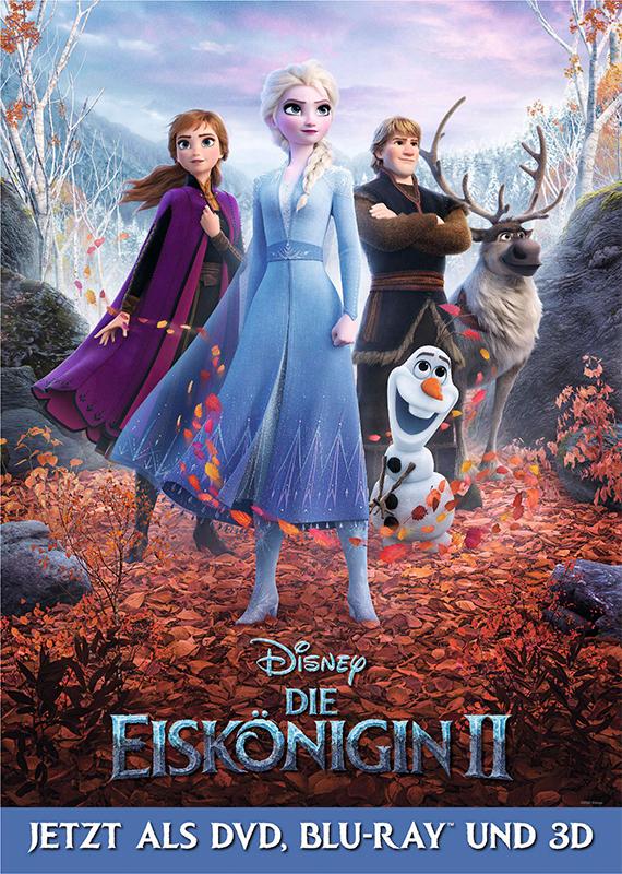 """Das Abenteuer geht endlich weiter: Wir verlosen zum Heimkinostart von """"Die Eiskönigin 2"""" tolle Fan-Pakete"""