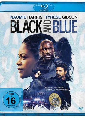 """Wir verlosen den Cop-Thriller """"Black and Blue"""" mit Naomie Harris und Tyrese Gibson auf BD"""