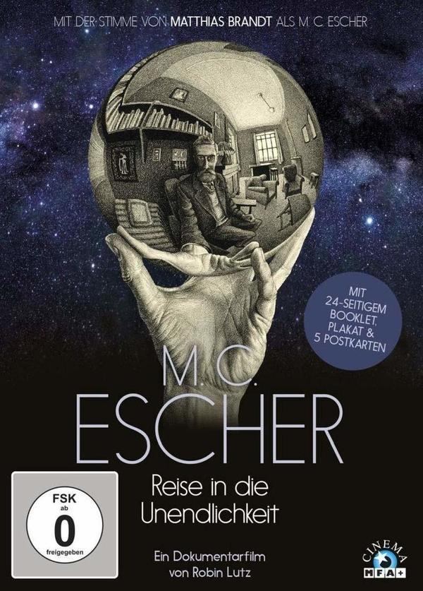 """Wir verlosen die Künstler-Doku """"M.C. Escher - Reise in die Unendlichkeit"""" auf DVD"""
