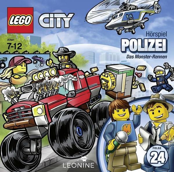 """Bauklotz-Hörspiel: Wir verlosen """"LEGO City 24"""" auf DVD"""