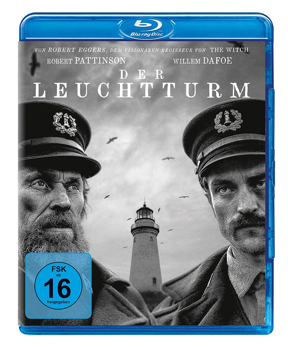 """Wahnsinn in Schwarzweiß: Wir verlosen """"Der Leuchtturm"""" mit Robert Pattinson und Willem Dafoe auf BD"""