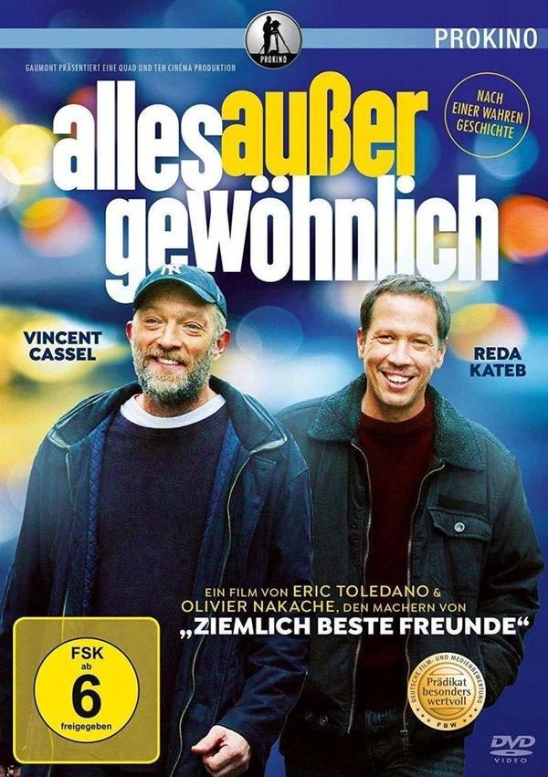 """Wir verlosen die bewegende Komödie """"Alles außer gewöhnlich"""" mit Vincent Cassel auf DVD und BD"""