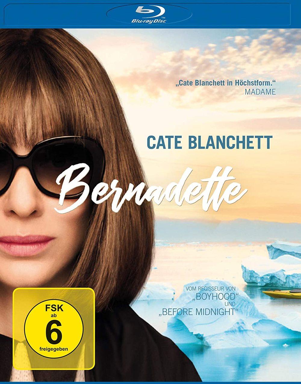 """Wir verlosen """"Bernadette"""" mit Cate Blanchett auf BD und den Roman zum Film gibt's dazu"""