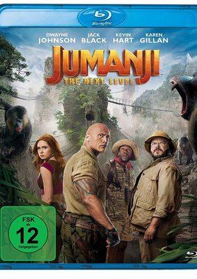 """Das Spiel geht mit """"Jumanji: The Next Level"""" weiter und wir verlosen das Sequel auf BD"""