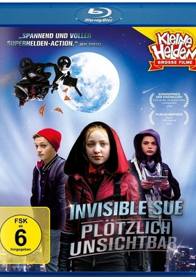 """Superhelden-Spaß für die ganze Familie: Wir verlosen """"Invisible Sue - Plötzlich unsichtbar"""" auf BD"""
