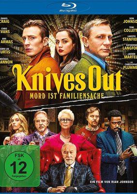 """Wir verlosen den Krimispaß """"Knives Out - Mord ist Familiensache"""" auf BD"""
