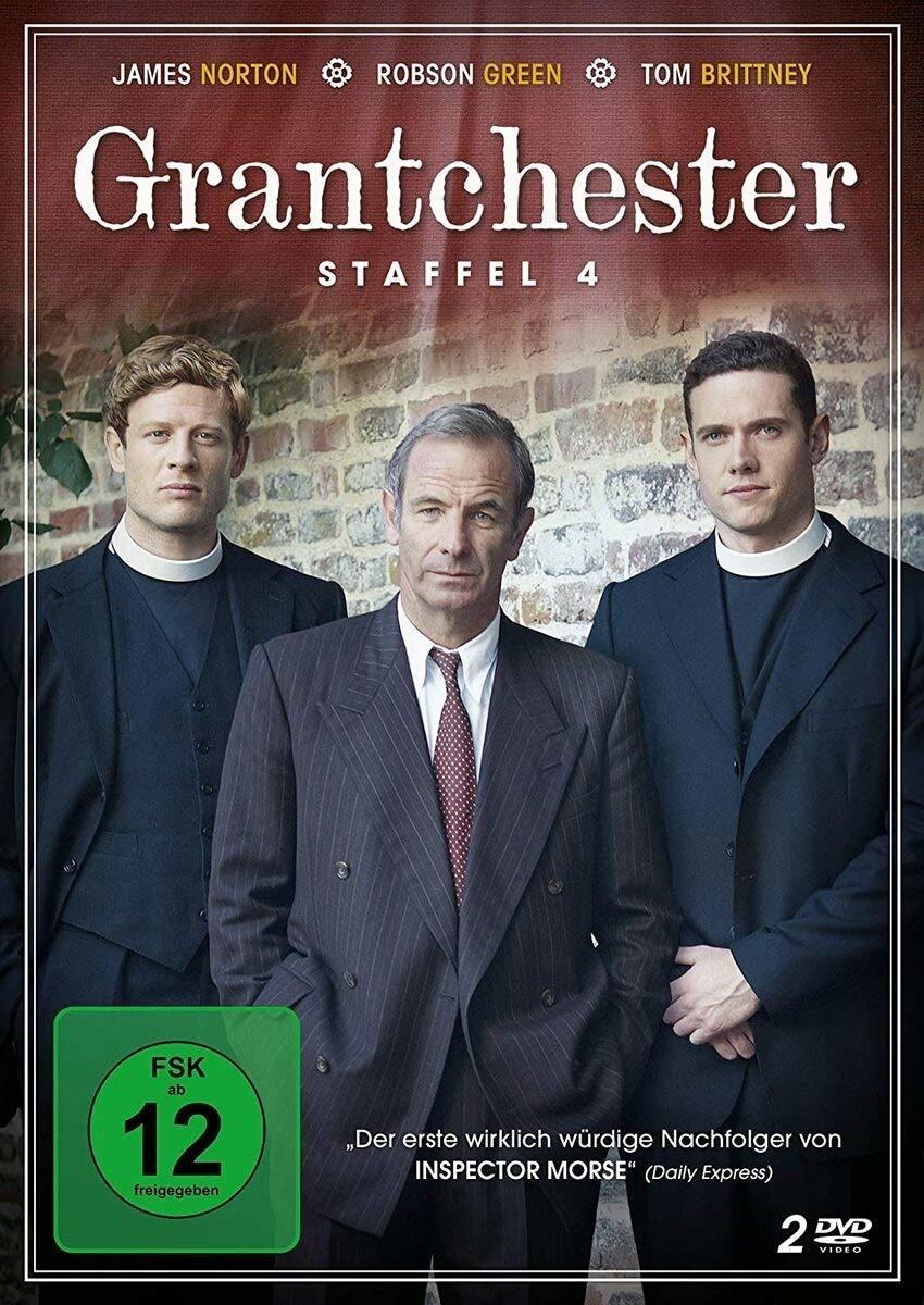 """Feinste Krimikost aus England: Wir verlosen die vierte Staffel """"Grantchester"""" auf DVD"""