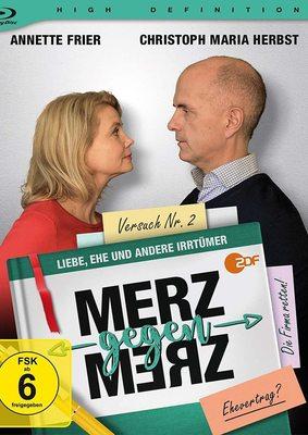 """""""Merz gegen Merz"""": Wir verlosen die Comedyserie mit Annette Frier und Christoph Maria Herbst auf BD"""