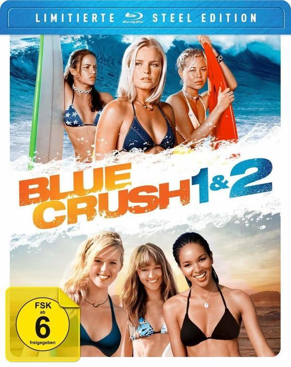 """Wellenreiten: Wir verlosen """"Blue Crush"""" und """"Blue Crush 2"""" als BD-Box"""