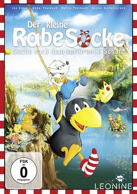 """Wir verlosen """"Der kleine Rabe Socke – Suche nach dem verlorenen Schatz"""" auf DVD und BD"""