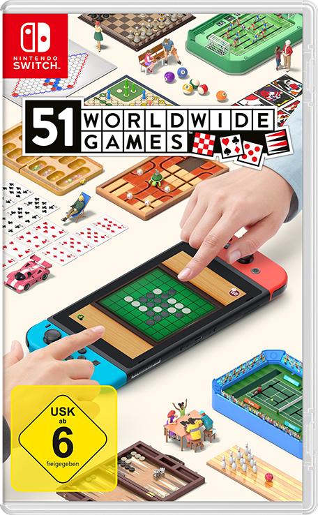 """Spaß für Jedermann: Wir verlosen das Videospiel """"51 Worldwide Games"""" für Nintendo Switch!"""