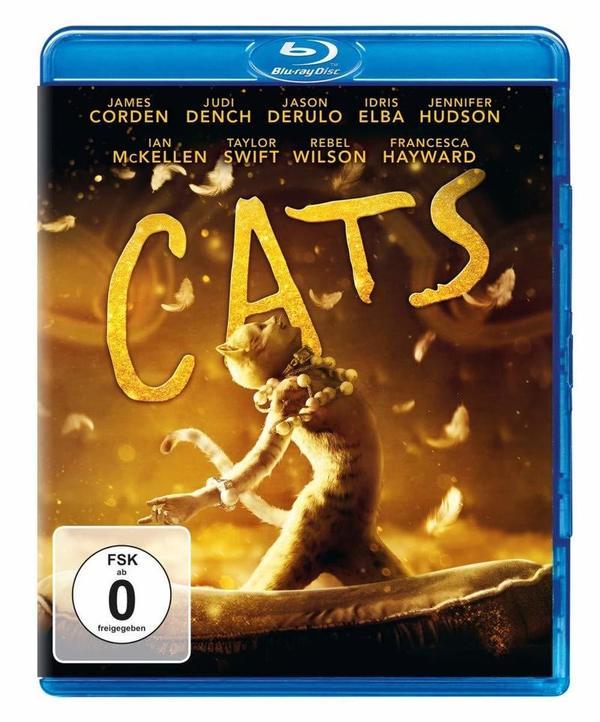 """Nach dem weltberühmten Musical: Wir verlosen """"Cats"""" auf BD"""