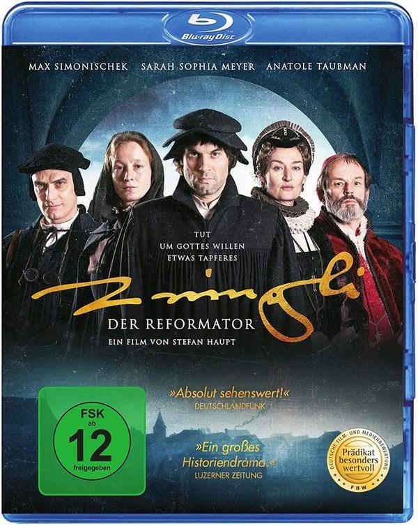 """Einer der wichtigsten Reformatoren: Wir verlosen das historische Drama """"Zwingli - Der Reformator"""" auf BD"""