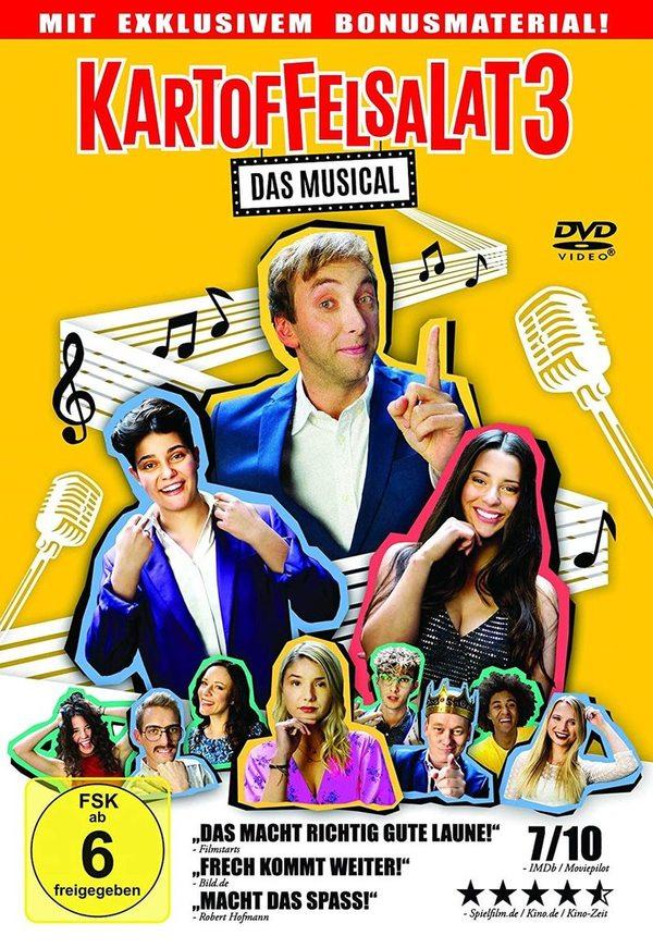 """Wir verlosen vom Hauptdarsteller signierte DVDs zu """"Kartoffelsalat 3 - Das Musical"""" + ein signiertes Riesenposter"""
