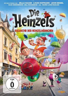 """Hilfe aus dem Verborgenen: Wir verlosen den Animationsspaß """"Die Heinzels - Rückkehr der Heinzelmännchen"""" auf DVD oder BD"""