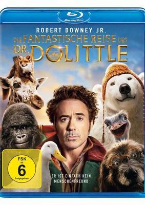 """Robert Downey Jr. spricht mit Tieren: Wir verlosen das Familienabenteuer """"Die fantastische Reise des Dr. Dolittle"""" auf BD"""