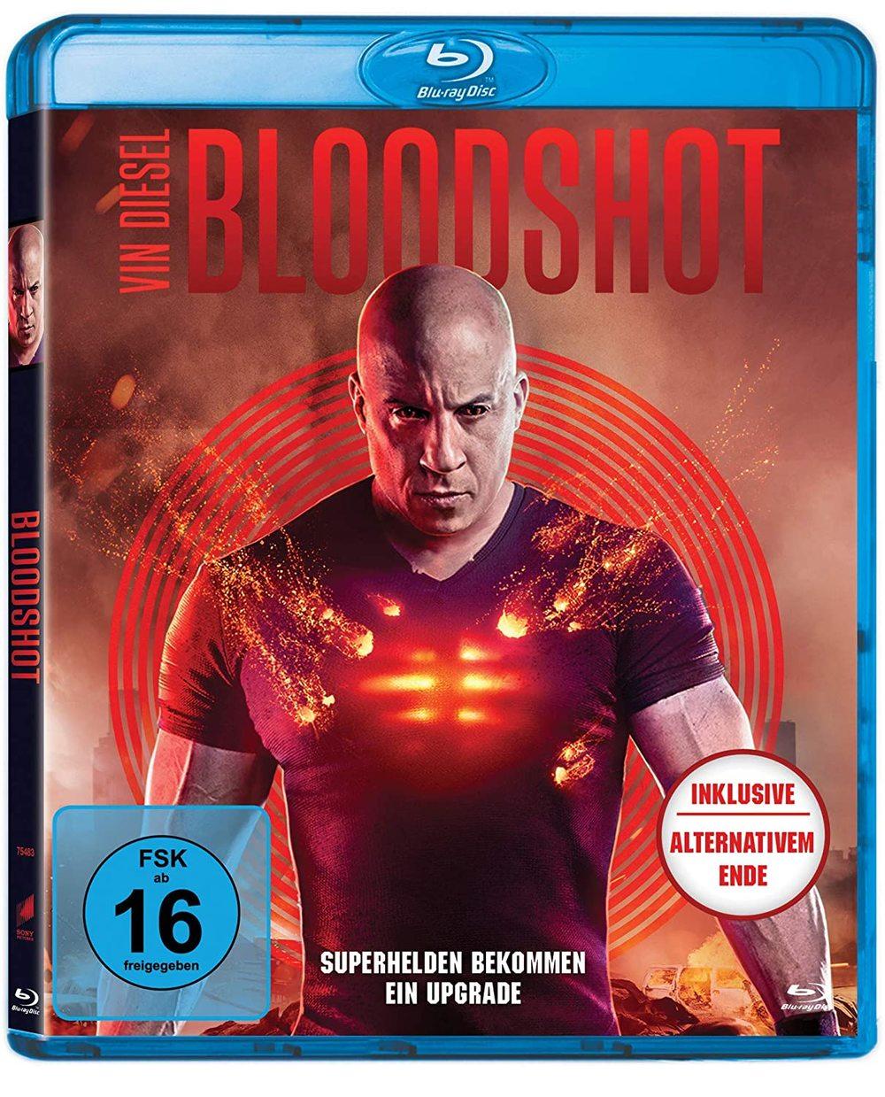 """Vin Diesel mit Upgrade: Wir verlosen die Comicverfilmung """"Bloodshot"""" auf BD"""