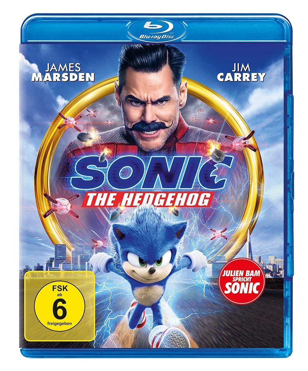 """Schnell mitmachen, bevor er wegrennt: Wir verlosen """"Sonic the Hedgehog""""auf BD"""