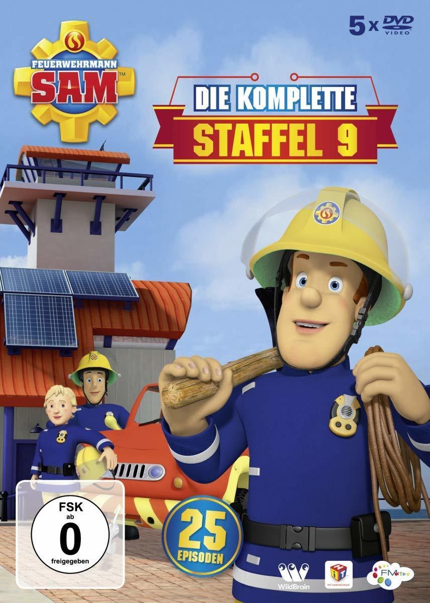"""Alarm es kommt ein Notruf an: Wir verlosen Staffel 9 von """"Feuerwehrmann Sam"""" auf DVD"""