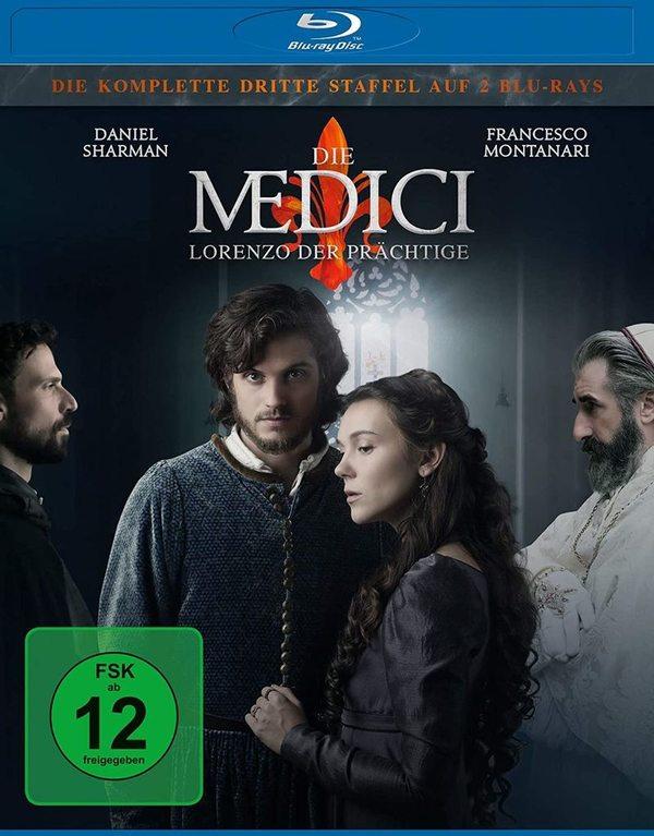"""Macht mit und gewinnt Staffel 3 der aufwendigen Historienserie """"Die Medici - Lorenzo der Prächtige"""" auf BD"""