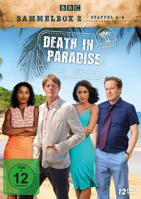 """Auch im Paradies schläft das Verbrechen nicht: Wir verlosen die Sammelbox 2 von """"Death in Paradise"""" auf DVD"""