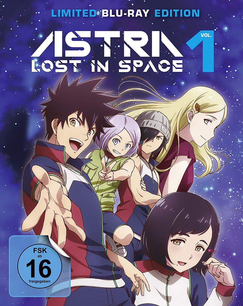 """Fans von Sci-Fi-Animes aufgepasst: Wir verlosen """"Astra Lost in Space - Vol. 1 - Limited Edition"""" auf BD"""